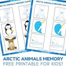 printable animal activities super fun arctic animal activities for kids autistic mama