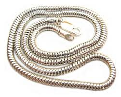 sterling silver snake necklace images Sterling silver necklace 3mm round snake chain 18 uk supplier of jpg