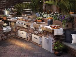 backyard kitchens brilliant backyard kitchen ideas pertaining to interior decor