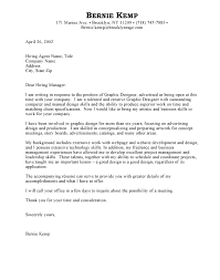 graphic designer cover letters cover letter for graphic design templates franklinfire co