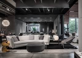 Modern Furniture Showroom by Minotti Company Showroom Presentation Of The 2015 Collection