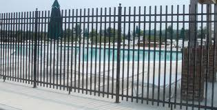 ornamental iron fencing pool panel fences ogden ut