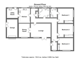 l shaped floor plans rummy next in bedroom detached bungalow then in corwen road