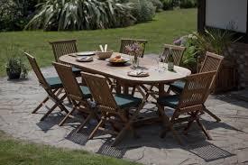 8 seat patio table honfleur teak garden furniture set humber imports