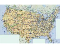 Map Of Montana Highways by Maps Of The Usa The United States Of America Political