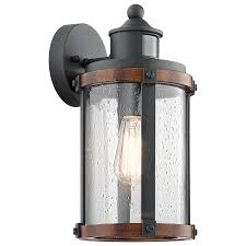 Hampton Bay Exterior Wall Lantern by Motion Activated Outdoor Wall Lights And Sensing Mounted Lighting