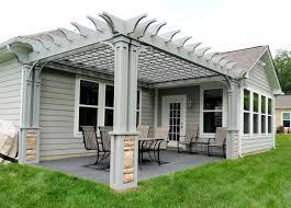 Pergola Post Base by Custom Made Arbors Trellises U0026 Pergolas Dayton Ohio Area