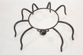 Gazing Globe Stand Wrought Iron Small Spider Gazing Ball Holder Plant Stand