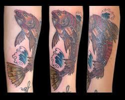 the 25 best salmon tattoo ideas on pinterest salmon drawing