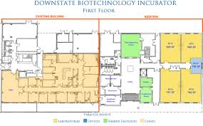 United Center Floor Plan by Downstate Biotechnology Incubator