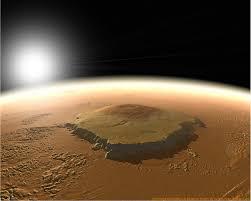olympus mons giant mountain of mars
