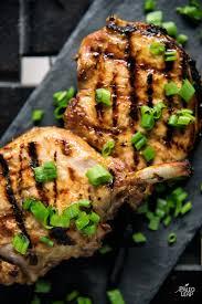 grilled dijon pork chops paleo leap