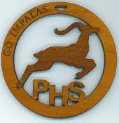 poudre high school impala ornament