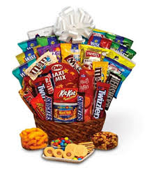 basket gifts sweet snack gift basket at from you flowers