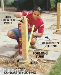 How To Install A Concrete Patio How To Build A Pergola Pergola Plans U2014 The Family Handyman