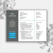 resume template cover letter template cv by documentfolder cv