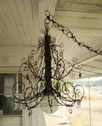 Wire Chandelier Diy 343 Best Wire Images On Pinterest Wire Crafts Wire Art And Iron
