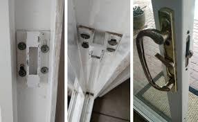 Sliding Glass Patio Door Hardware Pella Sliding Glass Door Keeper Swisco