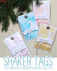 video fuse tool shaker tags stamp away with me cards