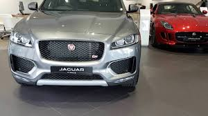 jaguar f pace grey 2017 jaguar f pace suv interior and exterior review walkaround