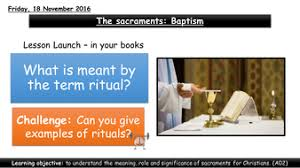 the sacraments baptism by charlotte101 teaching resources tes