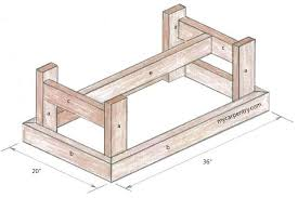 Diy Table Plans Free by Wood Coffee Table Plans Free Video And Photos Madlonsbigbear Com