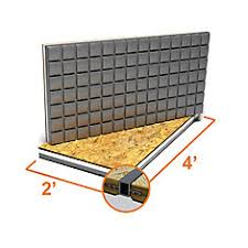 Basement Subfloor Systems - dricore 2 ft x 2 ft engineered subfloor panel system the home
