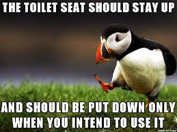 Toilet Seat Down Meme - let s be real here meme on imgur