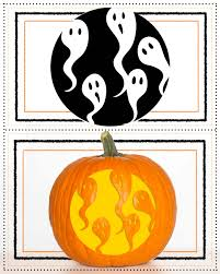 ghost pumpkin template eliolera com