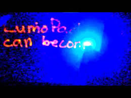 like a glowing etch a sketch lumopad lets you draw with light