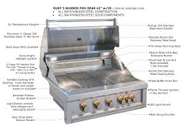 Kitchen Cabinet Heat Shield by Bbq Gas Grills Sunstonemetalproducts Com