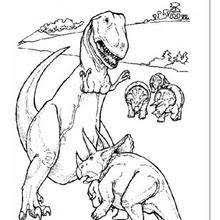 prehistoric dinosaur coloring pages hellokids