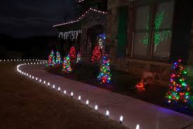 led outdoor christmas lighting traditional landscape atlanta