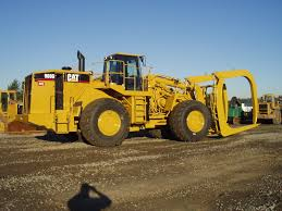 the cat 584 in an 8 wheel drive configuration logging