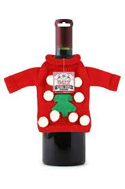 ugly christmas sweater wine tote 11 99 funslurp com unique