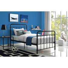 Black Twin Bedroom Furniture Better Homes And Gardens Kelsey Metal Bed Multiple Sizes And