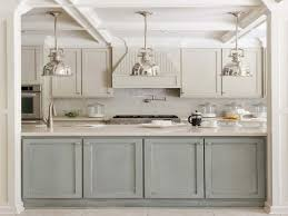 Painted Gray Kitchen Cabinets Christmas Door Decorating Ideas Light Gray Kitchen Cabinet