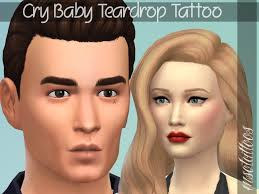 luvjake u0027s cry baby teardrop tattoo