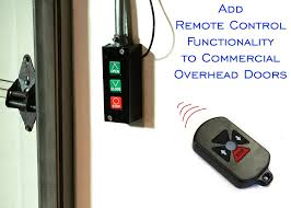 How To Program Overhead Door Remote Rf Remote System For Commercial Overhead Doors