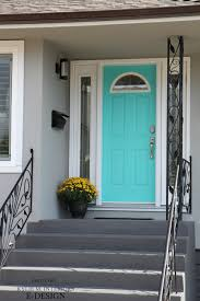 front door curb appeal mexicali turquoise a teal by benjamin