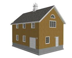 2 Story Garage Plans by 2 Story Garage Plans Sds Plans