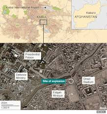kabul map afghanistan violence deadly bomb and gun attack hits kabul