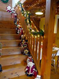 Handrail Christmas Decorations 27 Decorating Christmas U2013 The Staircase Christmas Decorating