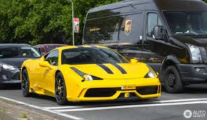 ferrari yellow 458 ferrari 458 speciale 3 september 2016 autogespot