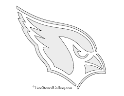 Free Halloween Pumpkin Stencils Printable by Nfl Arizona Cardinals Stencil Free Stencil Gallery