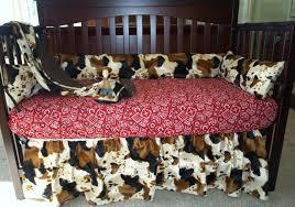 Pony Crib Bedding Cowboy Baby Bedding Set Western Style Pony Bandana