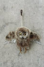 11 3 4 l x 10 1 2 h feather owl ornament wholesale ornaments