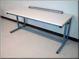 rdm workbench c 109p unbstructed knee space flat top table