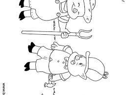 3 pigs face coloring wecoloringpage 3 pigs