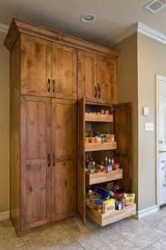 Kitchen Pantry Cabinets by All White Pantry Design With Measurments To Help You Diy Your